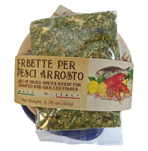Casarecci Mix of Dried Spices for Roasted and Grilled Fish