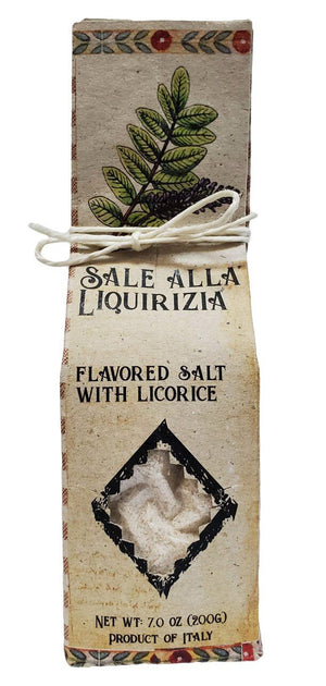 Casarecci Sale alla Liquiriza Flavored Salt With Licorice, 7 oz