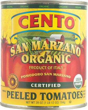 Cento San Marzano Organic Peeled Tomatoes, 28 oz Fruits & Veggies Cento