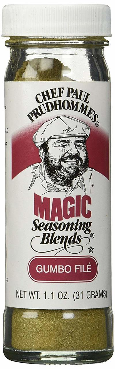 Chef Paul Prudhomme's Magic Seasoning Blend Gumbo Filé, 1.1 oz