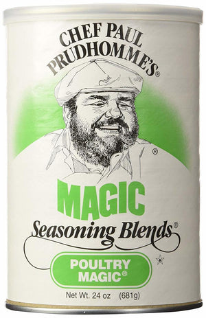 Chef Paul Prudhomme's Poultry Magic Seasoning, 24 oz