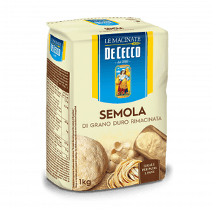 De Cecco Semolina Re-milled Durum Wheat, 2.2 lbs