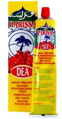 Dea Harissa Hot Sauce Tube - 4.23 oz