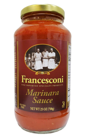 Francesconi Marinara Sauce, 25 oz