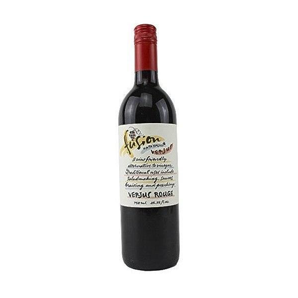 Fusion Napa Valley Verjus Rouge (Red) Juice of Unripe Grapes, 25 oz