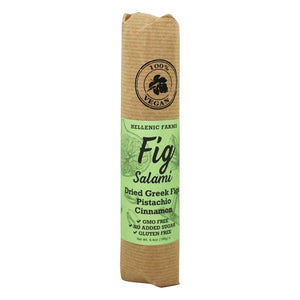 Hellenic Farms Fig Salami with Pistachio and Cinnamon, 6.4 oz Sweets & Snacks Hellenic Farms