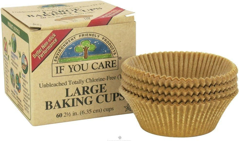 If You Care Large Baking Cups - 60 Count