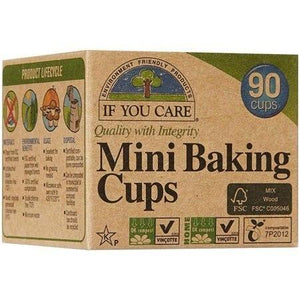 If You Care Mini Baking Cups Unbleached, 90 Cups