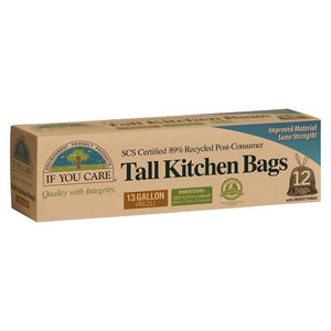 If You Care Tall Kitchen Bags - 12 Count