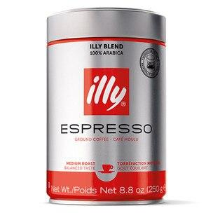 Illy Ground Espresso Medium Roast Coffee - 8.8 oz