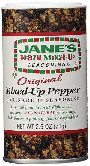 Jane's Krazy Mixed-Up Original Pepper, 2.5 oz