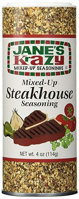 Jane's Krazy Mixed-Up Steakhouse Seasoning, 4 oz