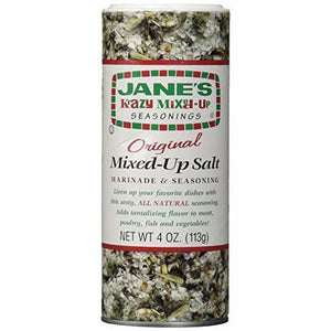 Jane's Krazy Original Mixed-Up Salt, 4 oz