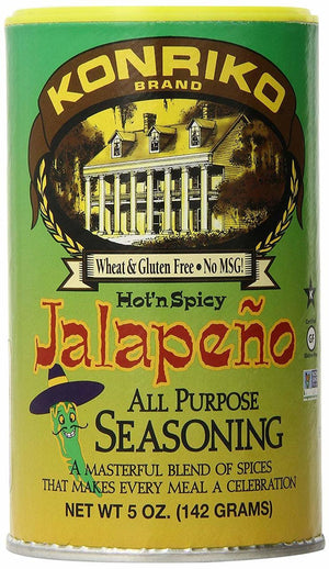 Konriko Jalapeno All Purpose Seasoning - 5 oz