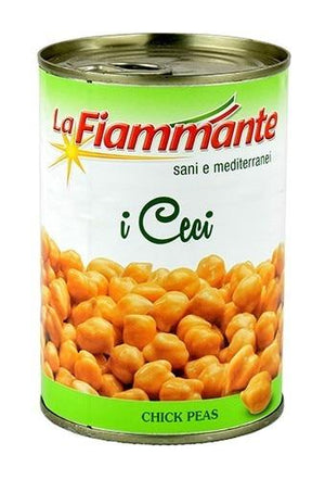 La Fiammante Chick Peas Can, 14 oz