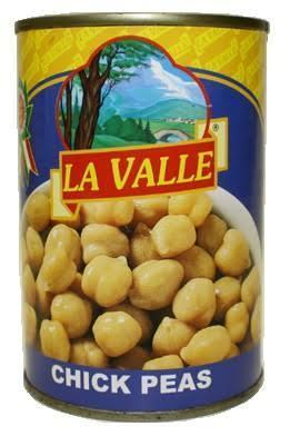 La Valle Chick Peas - 14 oz