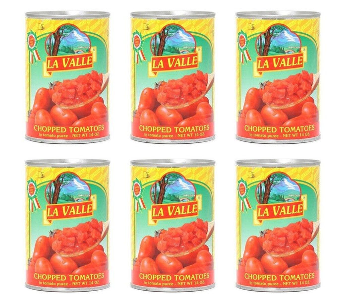 La Valle Chopped Tomatoes - 6 pack (28oz)