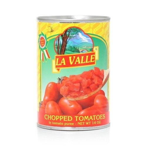 La Valle Chopped Tomatoes, 7.5 lbs