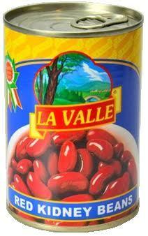 La Valle Red Kidney Beans, 14 oz (Pack of 24)