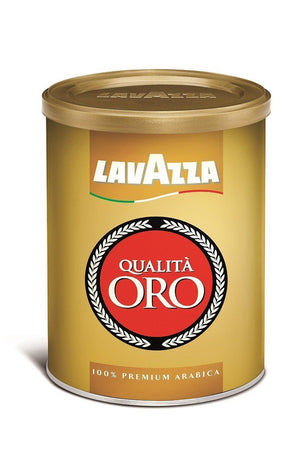 Lavazza Oro Gold Espresso Ground Coffee Tin - 8.8oz