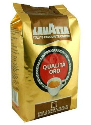 Lavazza Qualita Oro Whole Beans Coffee - 2.2 lbs