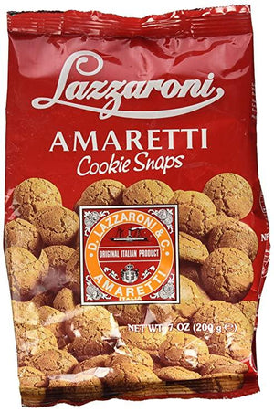 Lazzaroni Amaretti Snap Bags, 7 oz (200 grams) Sweets & Snacks Lazzaroni Amaretti