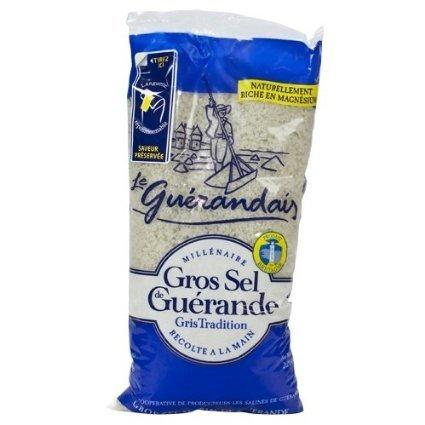 Le Guerandais Grey Coarse Salt Bag, 28 oz