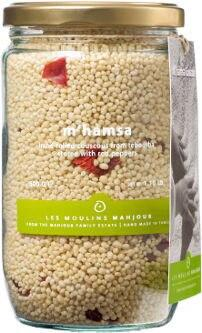 Les Moulins Mahjoub M'Hamsa Couscous with Red Peppers - 12 pack (500g)