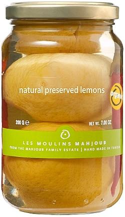Les Moulins Mahjoub Natural Preserved Lemons - 200g