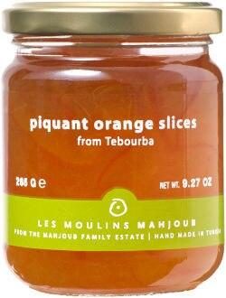 Les Moulins Mahjoub Piquant Orange Slices, 9.3 oz