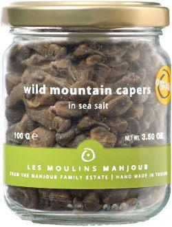 Les Moulins Mahjoub Wild Mountain Capers in Sea Salt - 100g