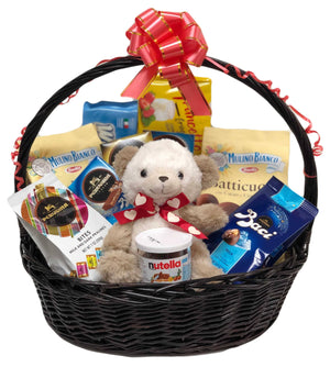"""Lover of My Sweets"" Valentine's Day Gift Basket Sweets & Snacks Supermarket Italy"