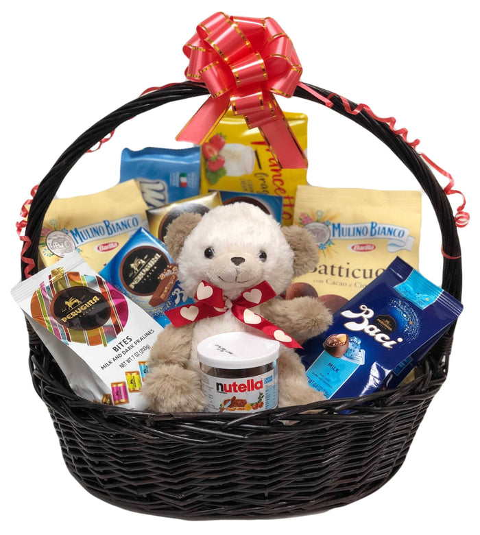 """Lover of My Sweets"" Valentine's Day Gift Basket"