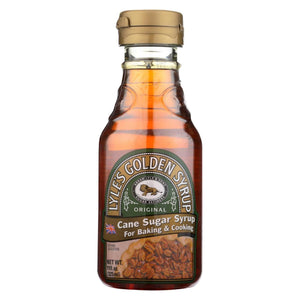 Lyle's Golden Syrup Original Cane Sugar Syrup Bottle, 11 oz