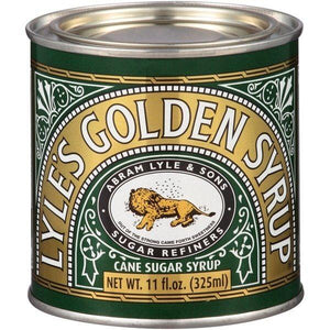 Lyle's Golden Syrup Original Cane Sugar Syrup Tin, 11 oz
