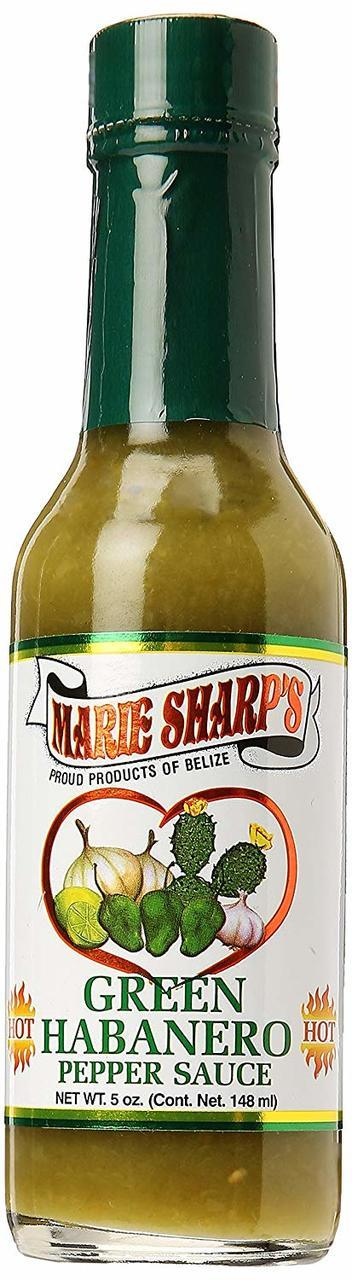 Marie Sharp's Green Habanero Pepper Sauce - 10 oz