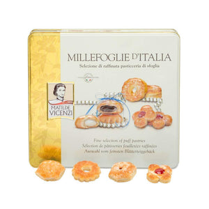 Matilde Vicenzi Millefoglie D'Italia Assortment of Puff Pastries and Cookies, 8.48 oz (240 g) Sweets & Snacks Matilde Vicenzi