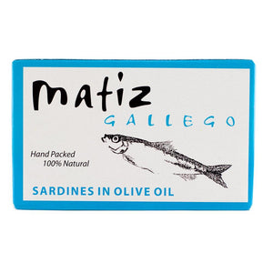 Matiz Gallego Wild Sardines in Olive Oil - 4.2 oz