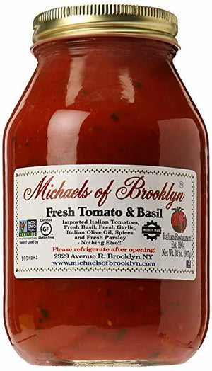 Michael's of Brooklyn Fresh Tomato & Basil Sauce - 32 oz.