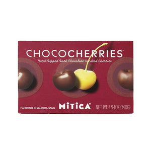 Mitica Chocolate Dipped Candied Cherries, 4.9 oz (140g) Sweets & Snacks Mitica