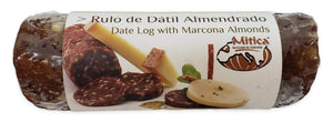 Mitica Date Log with Marcona Almonds, 180 grams