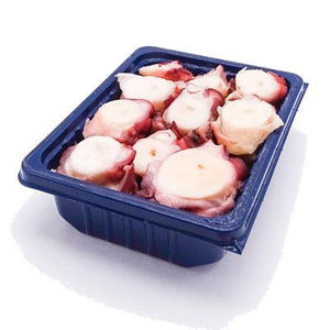 Mmmediterranean Sliced Spanish Octopus Tentacles (4 trays), 13.25 oz Each