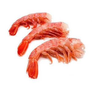 Mmmediterranean Wild Raw Red Shrimp (Head Off) Easy Peel Bag, 4 lbs