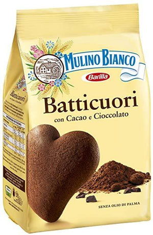 Mulino Bianco Batticuori Chocolate Cookies, 12 oz