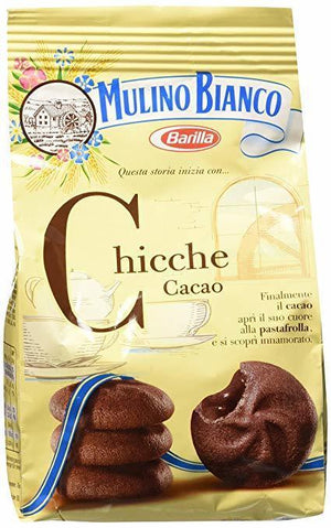Mulino Bianco Chicche Cacao Cookies - 200 grams