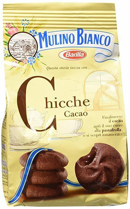 Mulino Bianco Chicche Cacao Cookies, 7 oz (200g)
