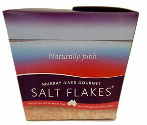 Murray River Pink Salt Flakes Chefs Box - 8.75 oz