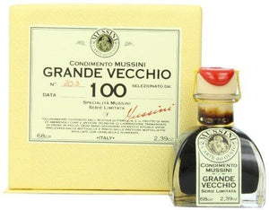 Mussini 100 Year Balsamic Vinegar, Il Grande Vecchio - 2.39 oz