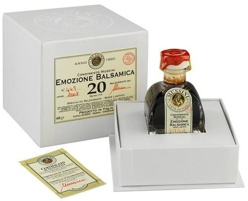 Mussini 20 Year Balsamic Vinegar, Emozione Balsamica - 2.39 oz