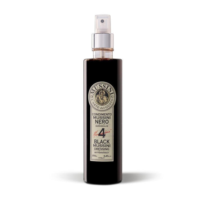 Mussini Black Condiment Spray Dressing aged 4 years - 250ml